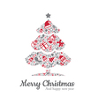 Christmas tree and icon vector image vector image