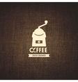 coffee brewed vector image vector image