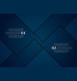dark blue abstract material corporate background vector image vector image