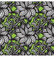 Elegant seamless pattern with flowers vector image vector image