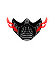 elevation training mask isolated sports accessory vector image