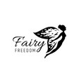 Fairy logo template