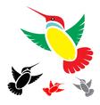 Hummingbird vector image vector image