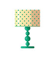 modern table lamp simple concise form of a vector image vector image