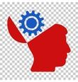 Open Head Gear Icon vector image