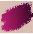art ink splash on cardboard abstract vector image