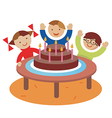Birthday children party vector image vector image