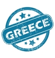 GREECE round stamp vector image
