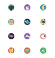 icons pack of sea life and animals vector image