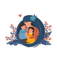 mother and kids concept vector image