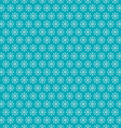 Seamless Snowflakes Pattern Winter Background vector image
