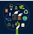Environmental and ecological conservation concept vector image