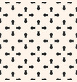 cross seamless pattern with rounded shapes vector image vector image