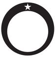 Diamond Ring Star vector image vector image