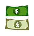 dollar money vector image vector image