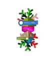 Sale Christmas tags and stickers vector image vector image