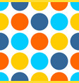 tile pattern with dots on white background vector image vector image