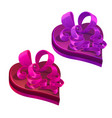 valentines day holiday gifts or presents heart vector image