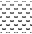 vintage bow tie pattern seamless vector image vector image