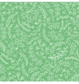 Doodles hand drawn branches seamless pattern vector image