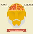 Alzheimer vector image
