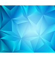 Background triangle vector image vector image
