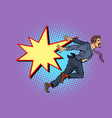 businessman falls concept problems and vector image vector image