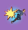 businessman falls concept problems vector image