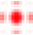 geometric abstract halftone dot pattern vector image vector image