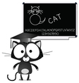 learning blackboard vector image vector image