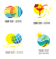Logo vacation 1 vector image vector image