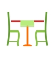 Lunch Table vector image