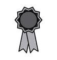 medal award symbol vector image vector image