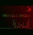 ramadan kareem greeting cards neon sign style vector image