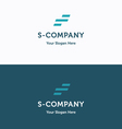 S Company logo 04 vector image vector image