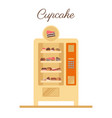 vending machine vector image vector image