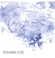 white gray navy blue marble watercolor texture vector image vector image