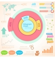Infographics Chart vector image