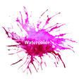abstract background with watercolor stains vector image vector image