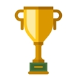 Award cup icon vector image vector image