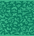 green arabic islamic seamless pattern vector image vector image