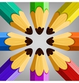 Color Pencils Collection vector image