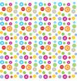 colorful circle accountant business circle vector image vector image