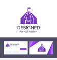 Creative business card and logo template tent