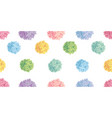 cute pastel colorful birthday party paper vector image vector image