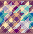 geometric abstract diagonal plaid pattern in low vector image