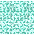 Geometric pattern with small hand painted squares vector image vector image