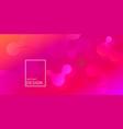 geometric wallpaper fluid gradient vector image vector image