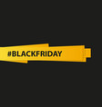 sale banner black friday discount summer sale vector image