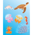 Sea animals vector | Price: 3 Credits (USD $3)